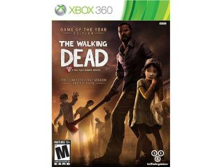 The walking dead: game of the year edition Xbox 360 Telltale Games