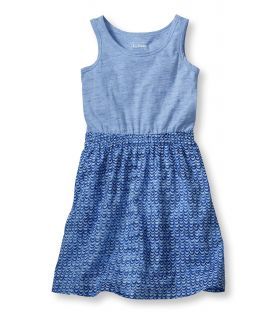 Girls Mix Match Dress, Print Girls