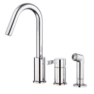 Danze Amalfi Single Handle Kitchen Faucet in Chrome D409030